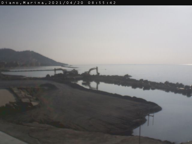 Webcam Diano Marina Mare (IM)